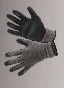 c4e4d738e11 Protect, grå - sort - Skærebeskyttelseshandske - Protect,.